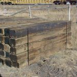 #1 Railroad ties